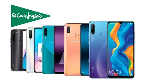 17 modelos de smartphones Huawei, LG, Samsung o Xiaomi que puedes encontrar en oferta en las rebajas de El Corte Inglés