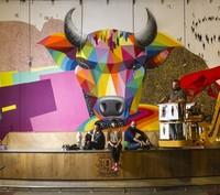 El graffiti se cuela en el interior, el Street Art toma la decoración de las casas
