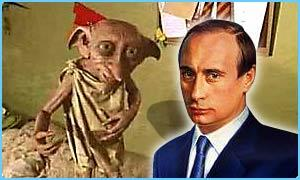 Cuando Vladimir Putin fue Harry Potter