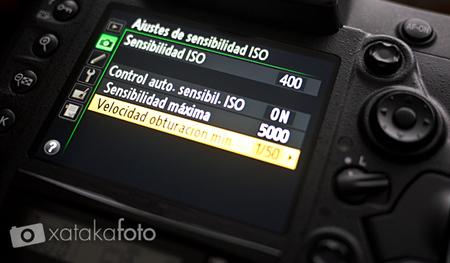 Configuración ISO automático