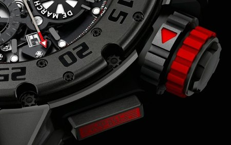 Richard Mille 032 Dark Diver Chrono Limited Edition