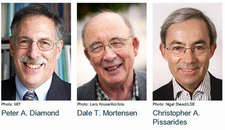 Nobel de economía 2010 para investigadores del desempleo