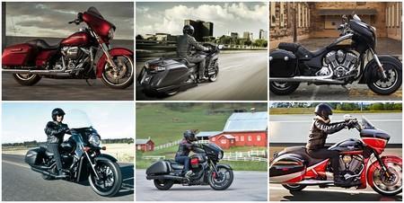 La Moto Guzzi MGX-21 no es la única bagger, aquí tienes las seis mejores para que elijas