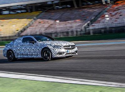 """""""Algo veloz se acerca"""", el 20 de agosto conoceremos el nuevo Mercedes-AMG C63 Coupe"""