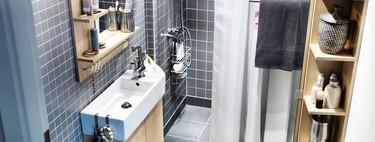 ¿Cómo multiplicar el espacio en un baño pequeño sin mover las paredes?