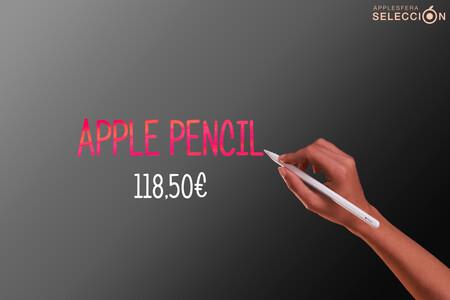 Toma notas, bocetea y diseña con el Apple Pencil de 2ª generación por 118,50 euros en Amazon, uno de sus precios más bajos