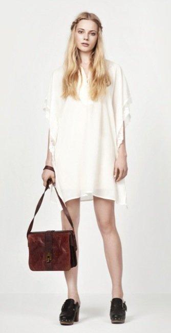 Zara, nuevo lookbook para el Verano 2010: vestido