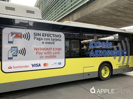 La EMT de Madrid activa el pago con Apple Pay, tarjetas y otros sistemas a partir de hoy