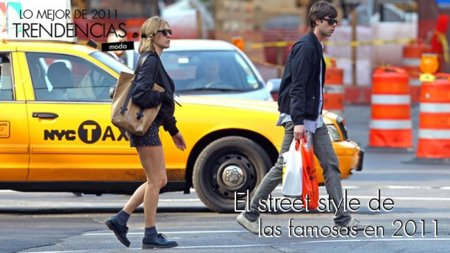Las famosas con mejor street style de 2011 (I)