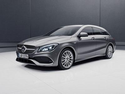 Mercedes CLA Shooting Brake Night Edition, una versión especial con cierto regusto AMG