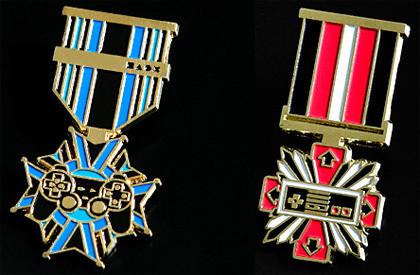 Medallas para veteranos de la Guerra de las Consolas