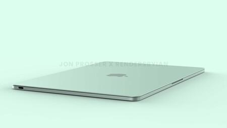 El próximo MacBook Air M2 traerá diseño plano, marcos blancos y siete colores, según Prosser
