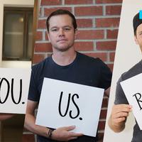 Matt Damon, Ben Affleck, Tom Brady y el comer pizza con ellos en Boston