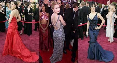 Celebración a la moda de los Oscars