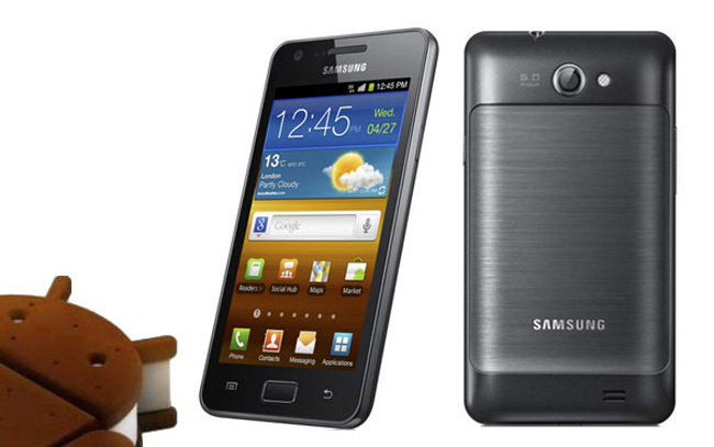 Samsung Galaxy R Ice Cream Sandwich