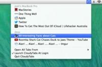 CloudyTabs, accede a las pestañas de Safari sincronizadas con iCloud desde otro navegador