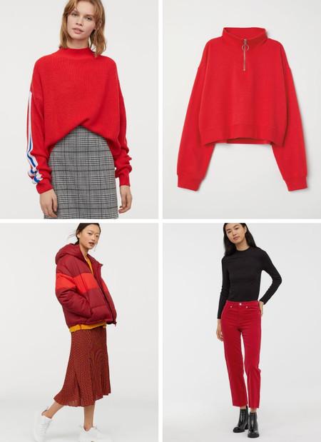 hm prendas rojo san valentin