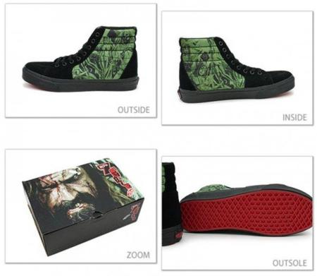 Halloween 2010: Vans Black Nightmare Sk8 Hi por Rob Zombie