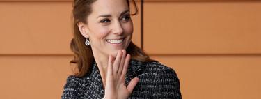 Kate Middleton luce un traje de tweed, el tejido que arrasará esta primavera