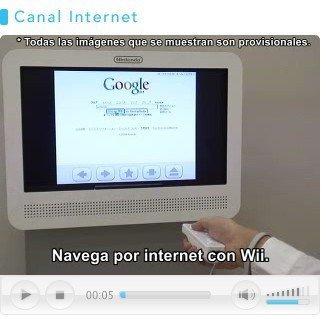 Wii: navegar por Internet