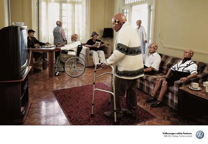 Anuncio de Volkswagen: los dummies llegarán a viejos