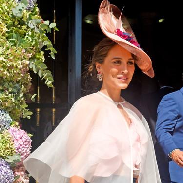 El look de Tamara Falcó en la boda de su hermana