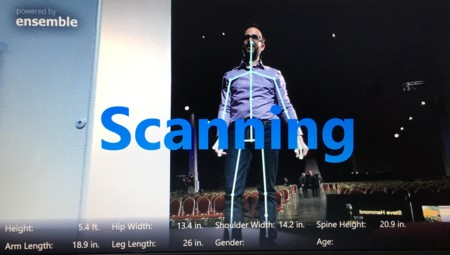 Adobe Body Scanning Microsoftkinnect 2