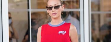 Ester Expósito levanta pasiones en el Festival de Cannes con su total look de Etro (al igual que Izabel Goulart)