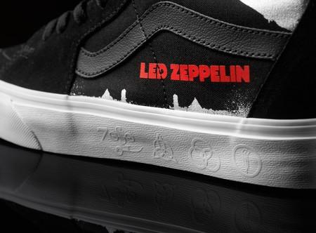 VANS celebra 50 años del disco homónimo de Led Zeppelin con una colección llena de rock