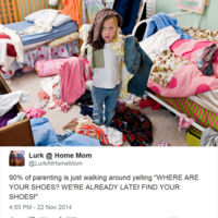 La paternidad y los zapatos