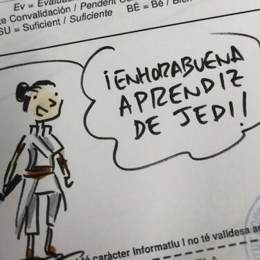 Las geniales calificaciones 'Star Wars' en forma de cómic de un profesor de sociales a sus alumnos