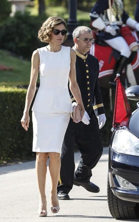 Letizia Ortiz Look Blanco