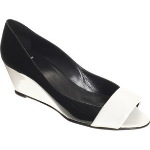 Pierre Hardy: zapatos en blanco y negro