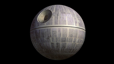 Un par de genios crearon un detallado vídeo que muestra cómo sería construir la Estrella de la Muerte de Star Wars