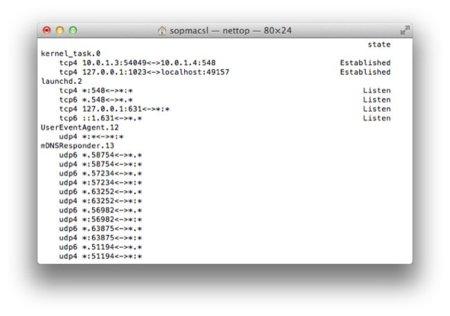 Nettop, controla desde el Terminal las conexiones que realiza tu ordenador