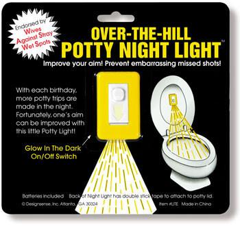 Potty Night Light, puntería nocturna