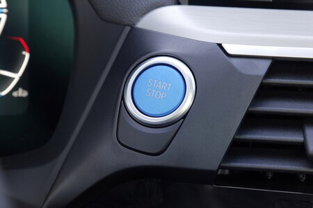BMW iX3 botón arranque Prueba 57