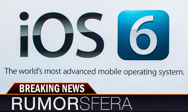 Rumorsfera iOS 6