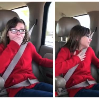 La conmovedora reacción de una niña al enterarse de que iba a ser adoptada, que nos ha emocionado