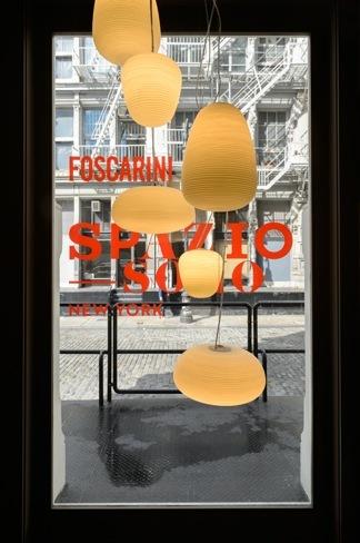 Primera tienda de Foscarini en Nueva York diseño de Ferruccio Laviani