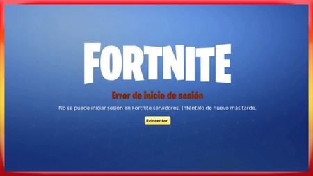 Fortnite error