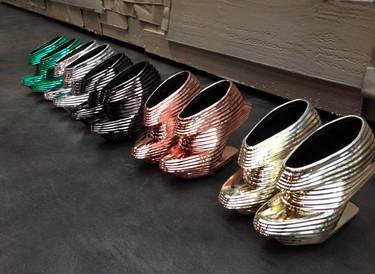Cuando un zapato es una pieza de arte moderno