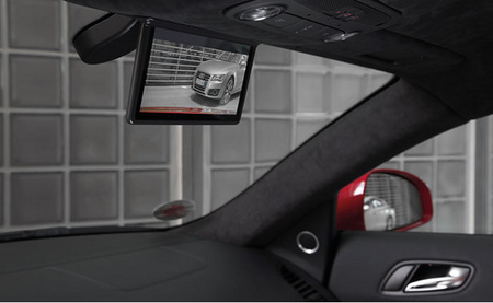 Audi R8 e-Tron retrovisor