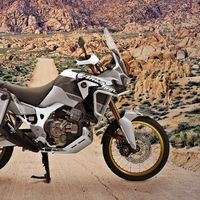GPS, maletas y caballete central por 300 euros para la Honda Africa Twin Adventure Sports Garmin Travel Edition