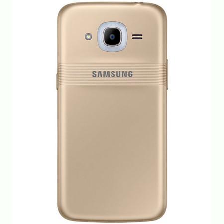 Primera imagen del Samsung Galaxy J2 2016 con el anillo de notificaciones Smart Glow