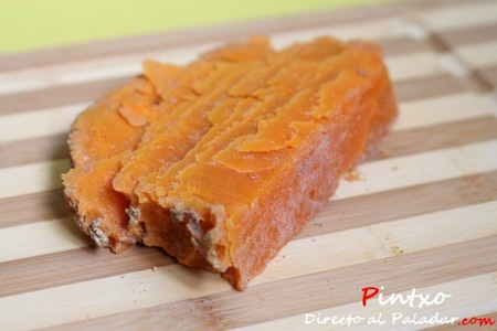 Mimolette o Boule de Lille, cata de queso
