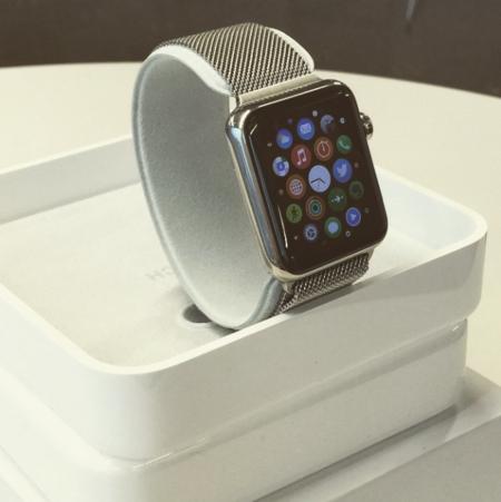 Esta es la caja donde vendrá empaquetado el Apple Watch listo para su venta