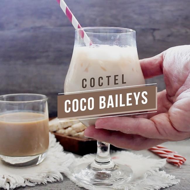 Coctel Coco Bailey's. Receta de bebida en video