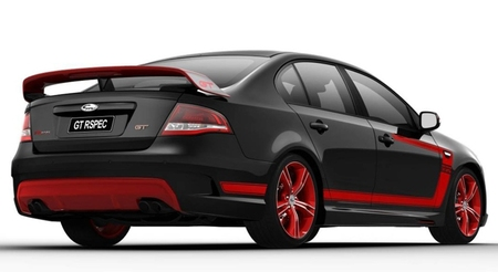 2012 FPV Falcon GT R Spec Limited Edition negro