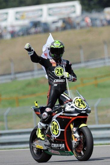 Toni Elías, campeón del mundo de Moto2